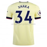 maillot de foot Premier League Arsenal 2017-18 Xhaka 29 maillot extérieur