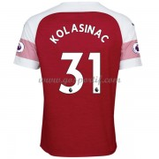 maillot de foot Premier League Arsenal 2018-19 Sead Kolasinac 31 maillot domicile