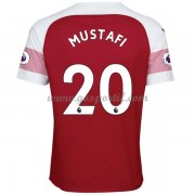 maillot de foot Premier League Arsenal 2018-19 Shkodran Mustafi 20 maillot domicile