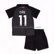 Arsenal maillot de foot enfant 2017-18 Mesut Ozil 11 maillot third..