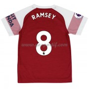 Arsenal maillot de foot enfant 2018-19 Aaron Ramsey 8 maillot domicile..