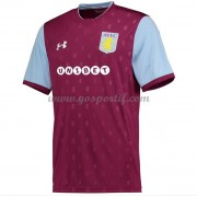 maillot de foot Premier League Aston Villa 2017-18 maillot domicile