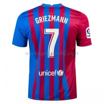 maillot de foot La Liga Atletico Madrid 2017-18 Griezmann 7 maillot domicile