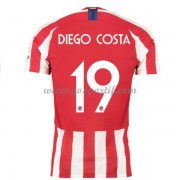 maillot de foot pas cher Atletico Madrid 2019-20 Diego Costa 19 maillot domicile