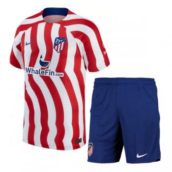 Atletico Madrid maillot de foot enfant 2018-19 maillot domicile
