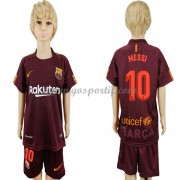 Barcelona maillot de foot enfant 2017-18 Lionel Messi 10 maillot third..
