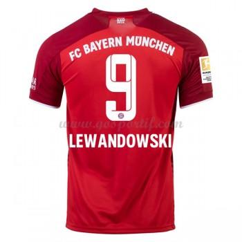 maillot de foot Bundesliga Bayern Munich 2017-18 Robert Lewandowski 9 maillot domicile