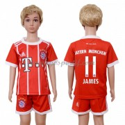 Bayern Munich maillot de foot enfant 2017-18 James Rodriguez 11 maillot domicile..