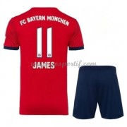 Bayern Munich maillot de foot enfant 2018-19 James Rodriguez 11 maillot domicile..