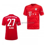Bayern Munich maillot de foot enfant 2019-20 David Alaba 27 maillot domicile..