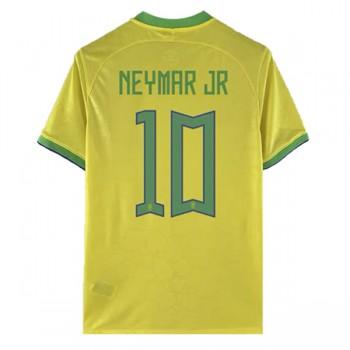 maillot de foot Brésil Coupe du monde 2018 Neymar JR 10 maillot domicile