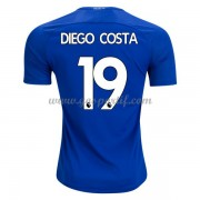maillot de foot Premier League Chelsea 2017-18 Diego Costa 19 maillot domicile..