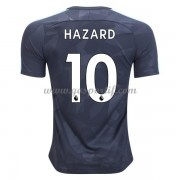 maillot de foot Premier League Chelsea 2017-18 Eden Hazard 10 maillot third..