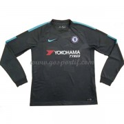 maillot de foot Premier League Chelsea 2017-18 maillot third manche longue..