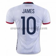 maillot de foot équipe nationale Colombie 2016 James Rodriguez 10 maillot domicile..