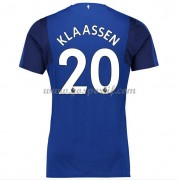 maillot de foot Premier League Everton 2017-18 Davy Klaassen 20 maillot domicile..