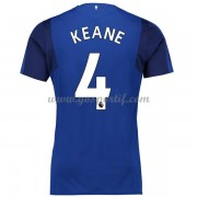 maillot de foot Premier League Everton 2017-18 Michael Keane 4 maillot domicile..