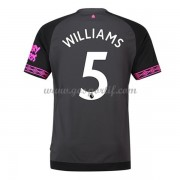 maillot de foot Premier League Everton 2018-19 Ashley Williams 5 maillot extérieur..
