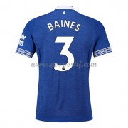 maillot de foot Premier League Everton 2018-19 Leighton Baines 3 maillot domicile..