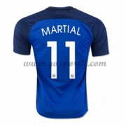 maillot de foot équipe nationale France 2016 Anthony Martial 11 maillot domicile..