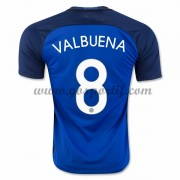 maillot de foot équipe nationale France 2016 Mathieu Valbuena 8 maillot domicile..