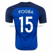 maillot de foot équipe nationale France 2016 Paul Pogba 19 maillot domicile..