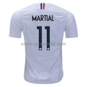 maillot de foot équipe nationale France 2018 Anthony Martial 11 maillot extérieur..