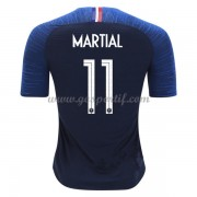 maillot de foot équipe nationale France 2018 Anthony Martial 11 maillot domicile..