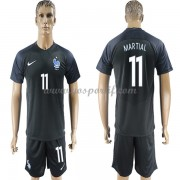 maillot de foot équipe nationale France 2018 Anthony Martial 11 maillot third..
