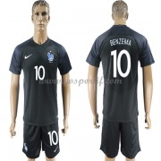 maillot de foot équipe nationale France 2018 Karim Benzema 10 maillot third..