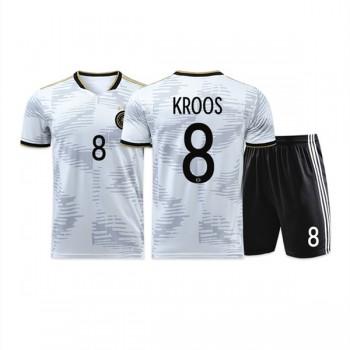 maillot de foot équipe nationale enfant Allemagne 2018 Toni Kroos 8 maillot domicile