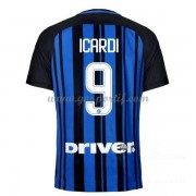 maillot de foot Series A Inter Milan 2017-18 Icardi 9 maillot domicile..