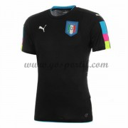maillot de foot équipe nationale Italie 2016 gardien de but maillot noir..