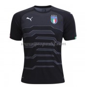 maillot de foot équipe nationale Italie 2018 gardien de but Noir maillot..