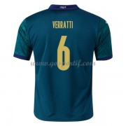 maillot de foot équipe nationale Italie 2020 Marco Verratti 6 maillot third..