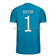 maillot de foot Series A Juventus 2017-18 Buffon 1 gardien de but maillot domicile..