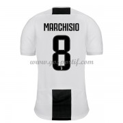 maillot de foot Serie A Juventus 2018-19 Claudio Marchisio 8 maillot domicile..