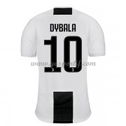 maillot de foot Serie A Juventus 2018-19 Paulo Dybala 10 maillot domicile