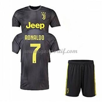 Juventus maillot de foot enfant 2018-19 Cristiano Ronaldo 7 maillot third