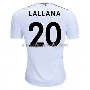 maillot de foot Premier League Liverpool 2017-18 Adam Lallana 20 maillot extérieur..