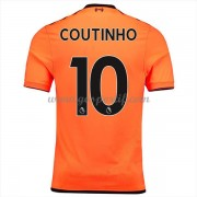 maillot de foot Premier League Liverpool 2017-18 Philippe Coutinho 10 maillot third..