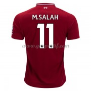 maillot de foot Premier League Liverpool 2018-19 Mohamed Salah 11 maillot domicile..
