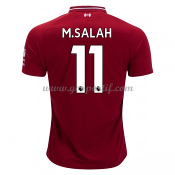 maillot de foot Premier League Liverpool 2018-19 Mohamed Salah 11 maillot domicile