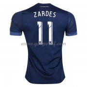 maillot de foot Clubs Los Angeles Galaxy 2017-18 Gyasi Zardes 11 maillot extérieur..