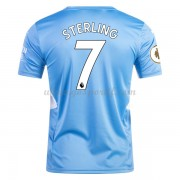 maillot de foot Premier League Manchester City 2017-18 Raheem Sterling 7 maillot domicile..