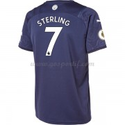 maillot de foot Premier League Manchester City 2017-18 Raheem Sterling 7 maillot third..