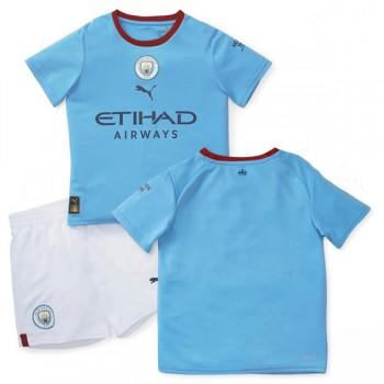 Manchester City maillot de foot enfant 2018-19 maillot domicile