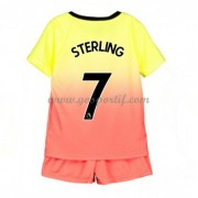 Manchester City maillot de foot enfant 2019-20 Raheem Sterling 7 maillot third..