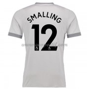 maillot de foot Premier League Manchester United 2017-18 Smalling 12 maillot third