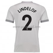 maillot de foot Premier League Manchester United 2017-18 Victor Lindelof 2 maillot third